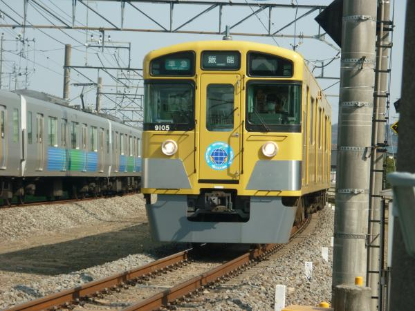 2014-03-28 西武9105F 準急飯能行き 4135レ