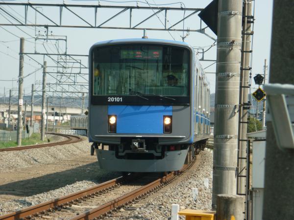 2014-03-28 西武20101F 準急飯能行き 4133レ