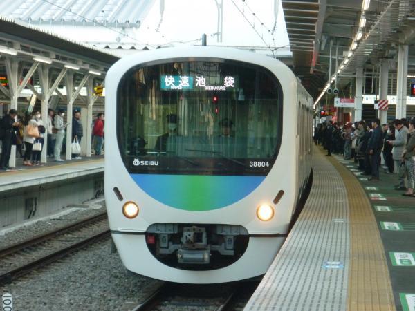 2014-03-28 西武32102F+38104F 快速池袋行き 3118レ
