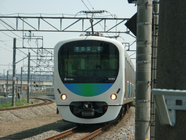2014-03-28 西武32104F+38112F 準急飯能行き 4127レ