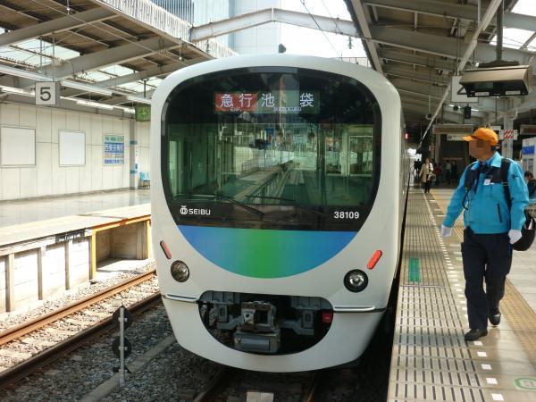 2014-03-28 西武38109F 急行池袋行き 2136レ