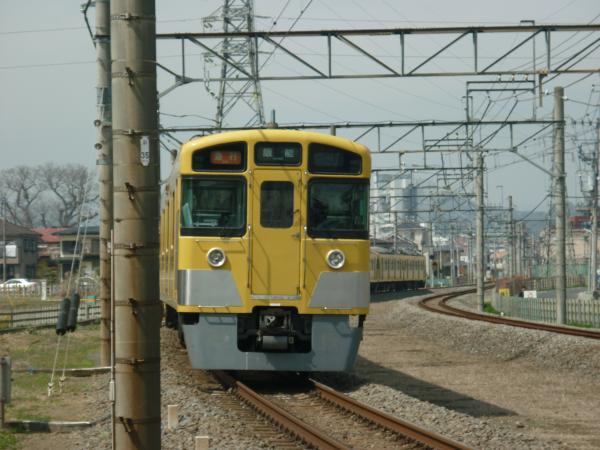 2014-03-29 西武2463F+2503F+2501F 急行飯能行き 2121レ