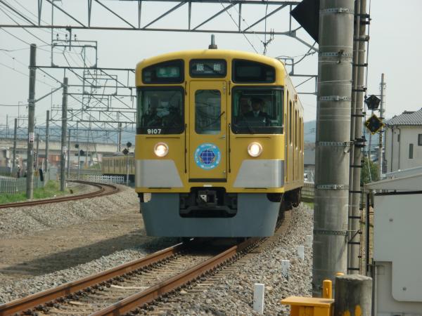 2014-03-29 西武9107F 準急飯能行き 4123レ