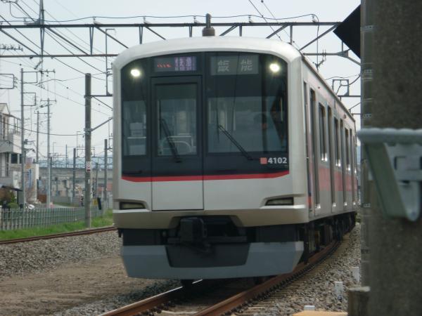 2014-03-29 東急4102F 快急飯能行き 1707レ