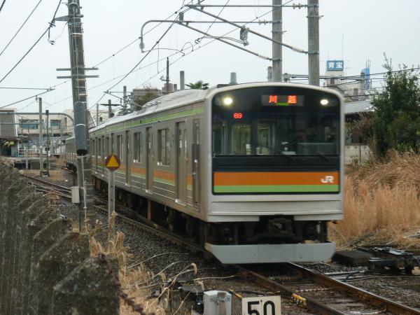 2013-12-27 八高線205系ハエ82編成 川越行き