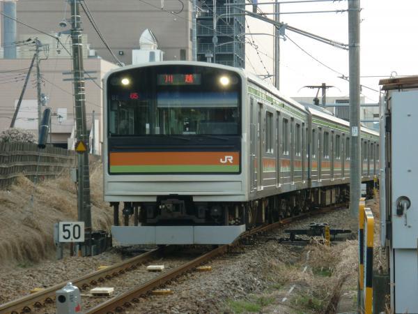 2014-03-09 八高線205系ハエ85編成 川越行き1