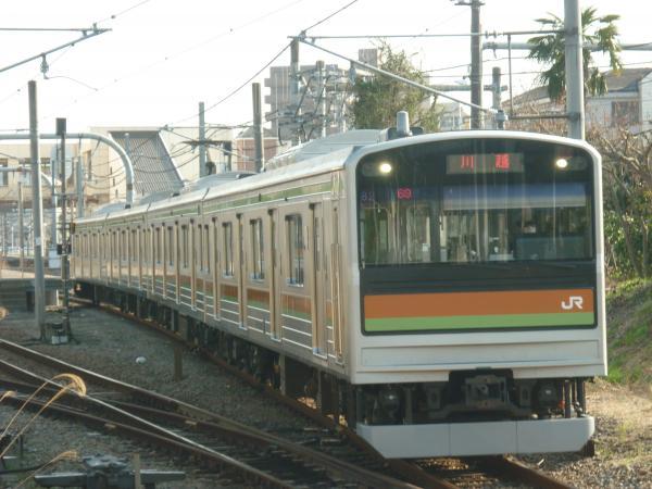 2014-03-28 八高線205系ハエ82編成 川越行き