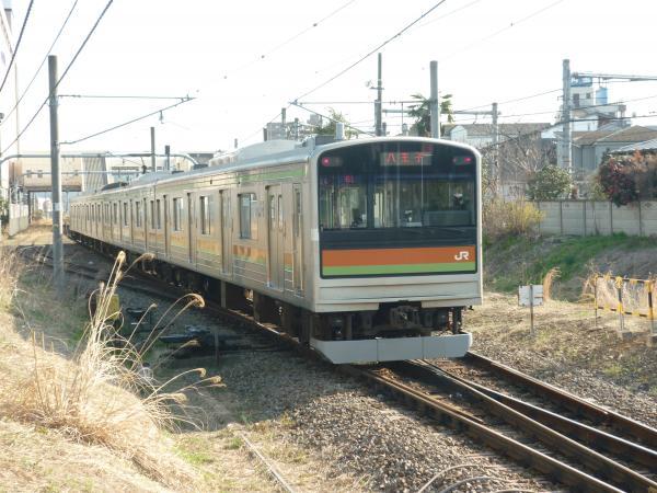 2014-03-28 八高線205系ハエ84編成 八王子行き2