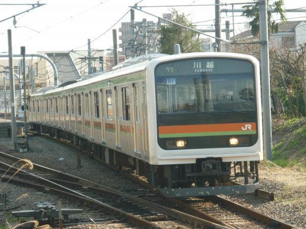 2014-03-28 八高線209系ハエ61編成 川越行き1