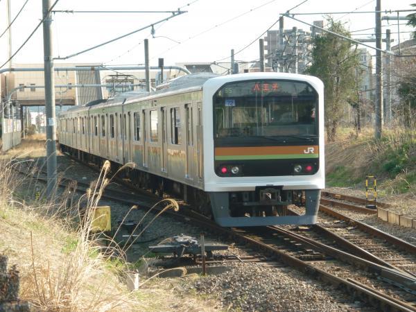 2014-03-28 八高線209系ハエ72編成 八王子行き2