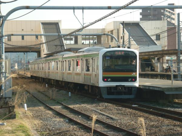 2014-03-28 八高線209系ハエ72編成 八王子行き3