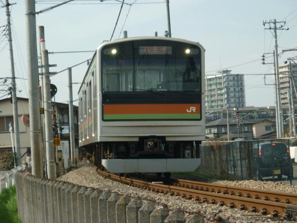 2014-03-29 八高線205系ハエ81編成 八王子行き