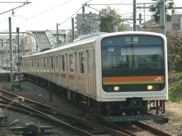 2014-03-29 八高線209系ハエ61編成 川越行き