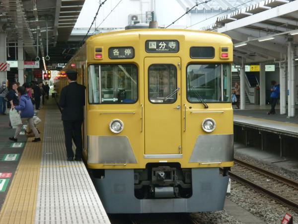 2014-03-31 西武2009F 各停国分寺行き 5714レ