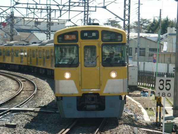 2014-03-31 西武2013F+2527F 急行拝島行き1 2313レ