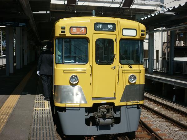 2014-03-31 西武2013F+2527F 急行拝島行き2 2313レ