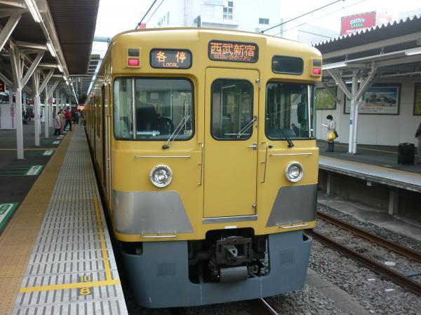 2014-03-31 西武2019F+2419F 各停西武新宿行き2 5836レ