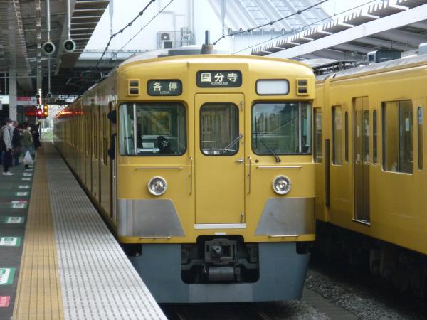 2014-03-31 西武2029F 各停国分寺行き 5774レ