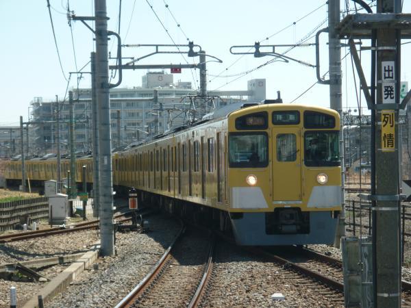 2014-03-31 西武2049F+2505F 急行拝島行き 2317レ