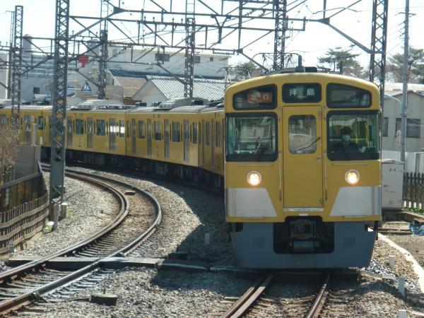 2014-03-31 西武2053F+2509F 急行拝島行き1 2315レ
