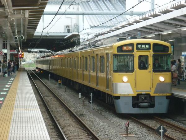 2014-03-31 西武2053F+2509F 急行本川越行き 2663レ