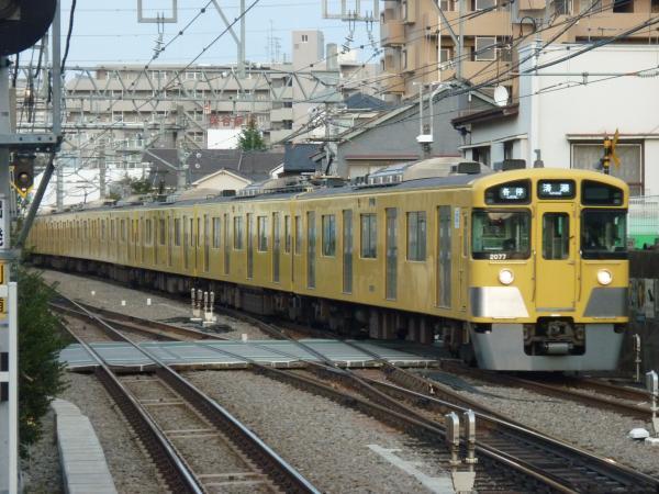 2014-03-31 西武2077F 各停清瀬行き 5855レ