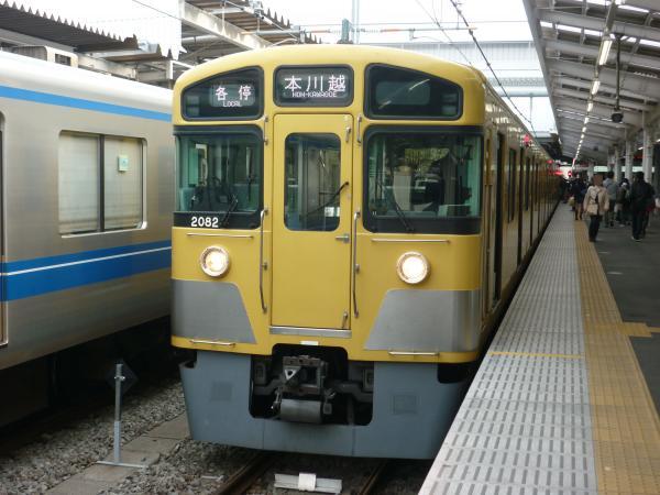 2014-03-31 西武2081F 各停本川越行き 5645レ