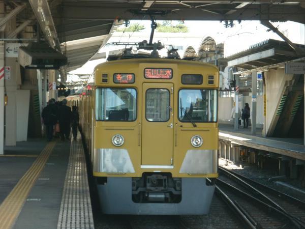 2014-03-31 西武2401F+2507F 各停玉川上水行き2 5455レ