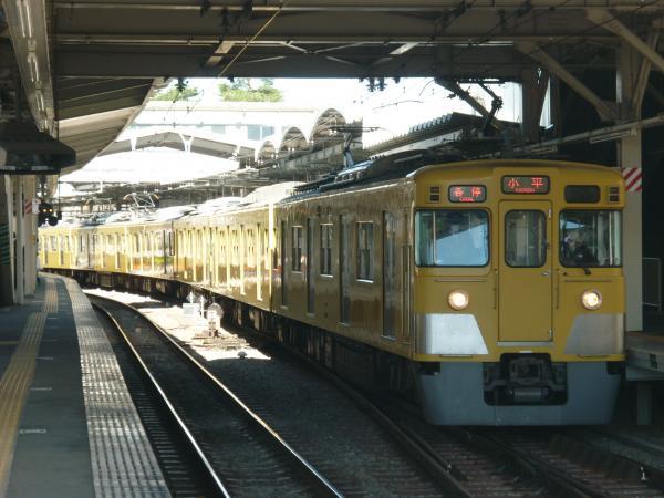 2014-03-31 西武2401F+2507F 各停小平行き2 5460レ