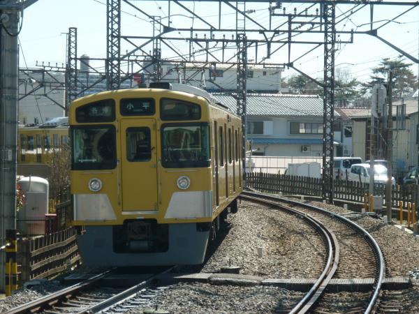 2014-03-31 西武2401F+2507F 各停小平行き3 5460レ