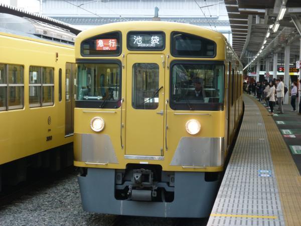 2014-03-31 西武2453F+2085F 急行池袋行き1 2164レ