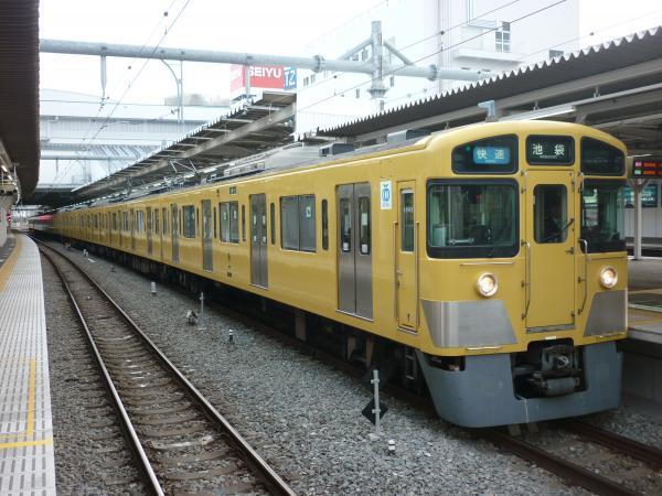 2014-03-31 西武2463F+2503F+2501F 快速池袋行き2 3116レ
