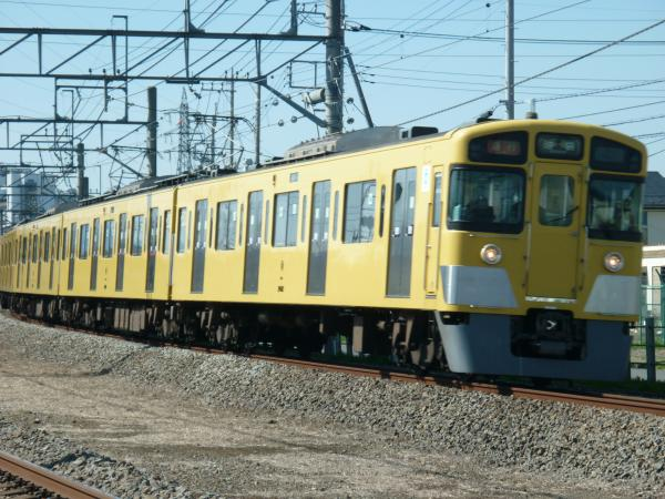 2014-03-31 西武2463F+2503F+2501F 急行池袋行き 2150レ