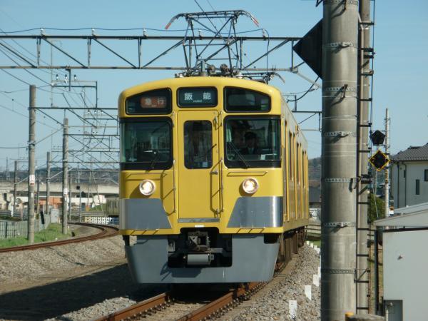 2014-03-31 西武2465F+2087F 急行飯能行き 2147レ