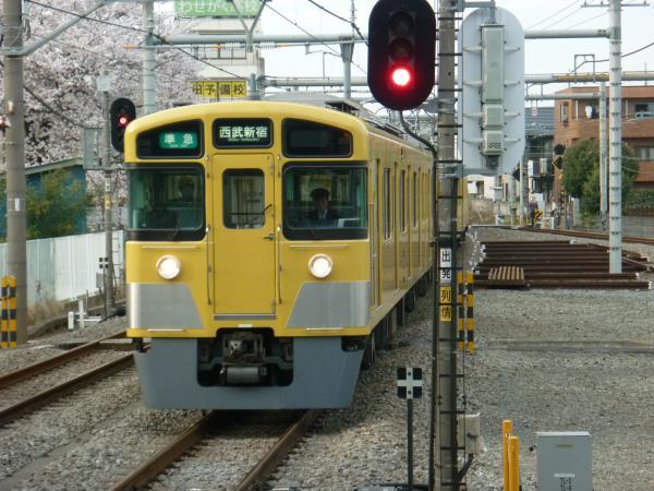 2014-03-31 西武2519F+2015F 準急西武新宿行き1 4808レ
