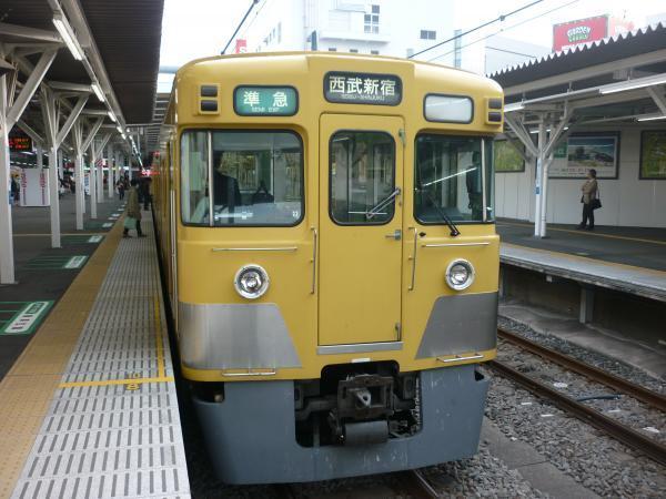 2014-03-31 西武2519F+2015F 準急西武新宿行き2 4808レ