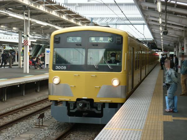 2014-03-31 西武3007F 各停新所沢行き2 5771レ
