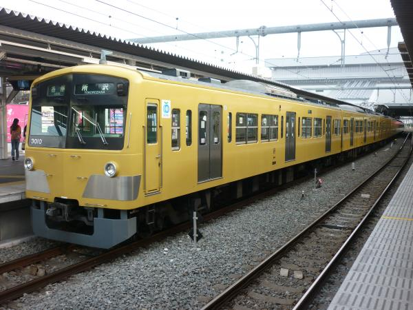 2014-03-31 西武3009F 各停所沢行き2 5315レ