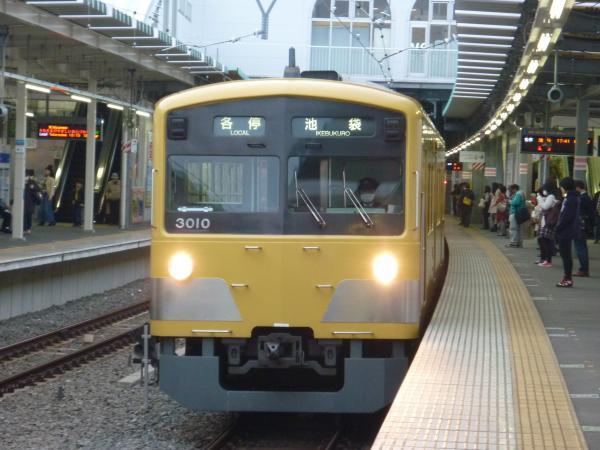 2014-03-31 西武3009F 各停池袋行き1 5862レ