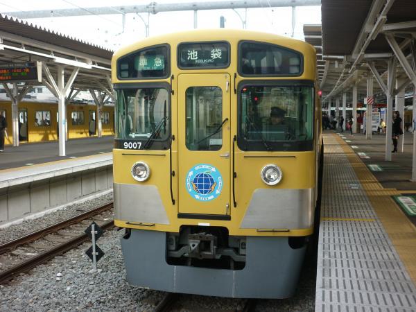 2014-03-31 西武9107F 準急池袋行き2 4128レ