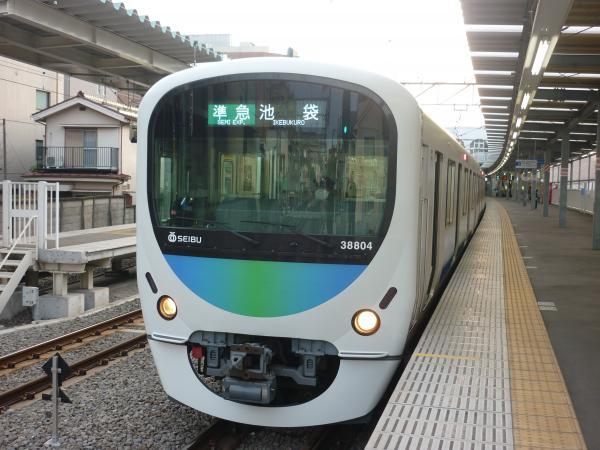 2014-03-31 西武32102F+38104F 準急池袋行き 4218レ