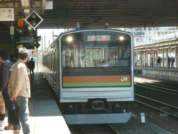 2014-03-31 八高線205系ハエ82編成 川越行き1