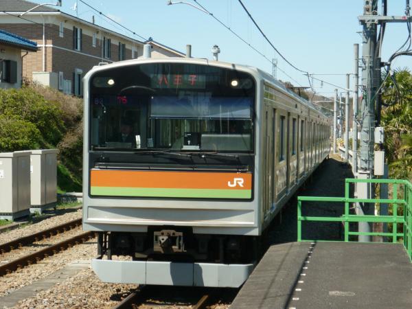 2014-03-31 八高線205系ハエ83編成 八王子行き1