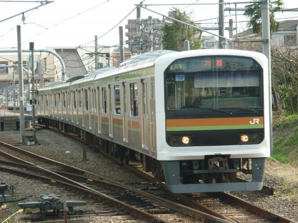 2014-03-31 八高線209系ハエ72編成 川越行き