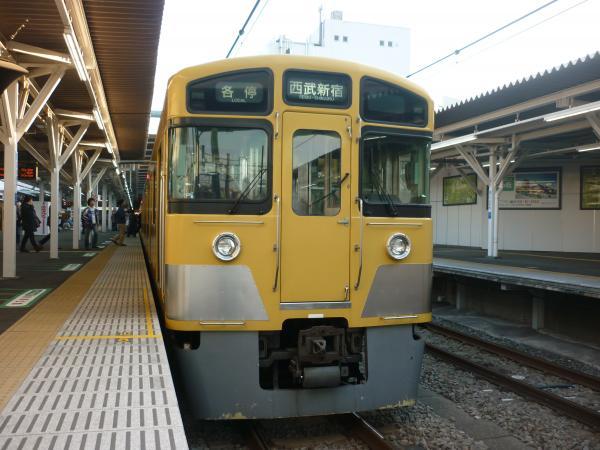 2014-03-28 西武2401F+2053F 各停西武新宿行き2