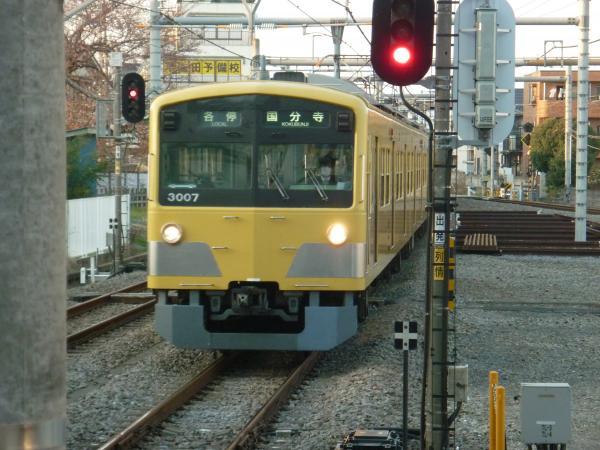 2014-03-28 西武3007F 各停国分寺行き