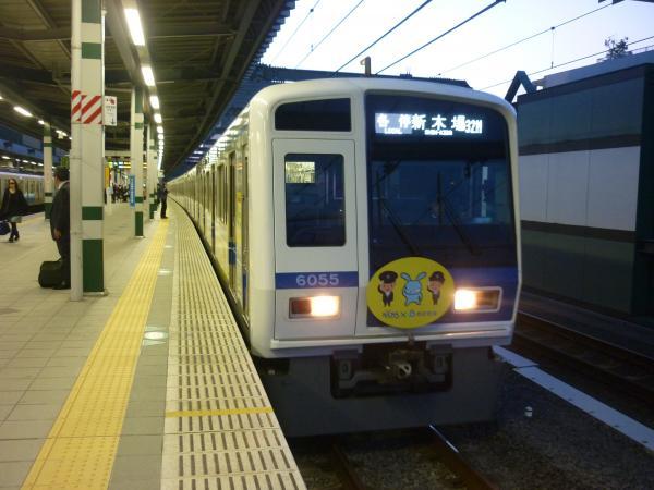 2014-03-28 西武6155F 各停新木場行き