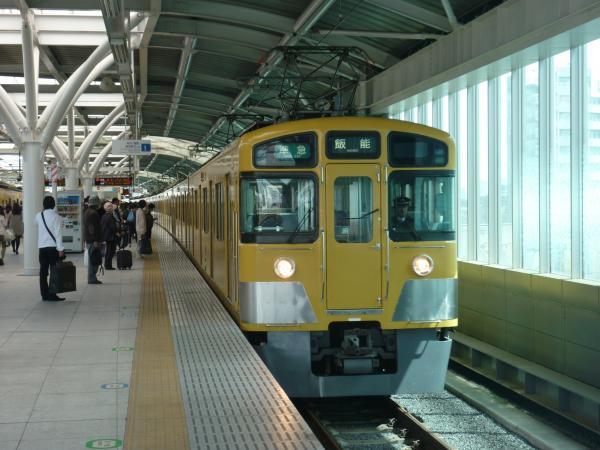 2014-04-12 西武2455F+2089F 準急飯能行き1 4129レ