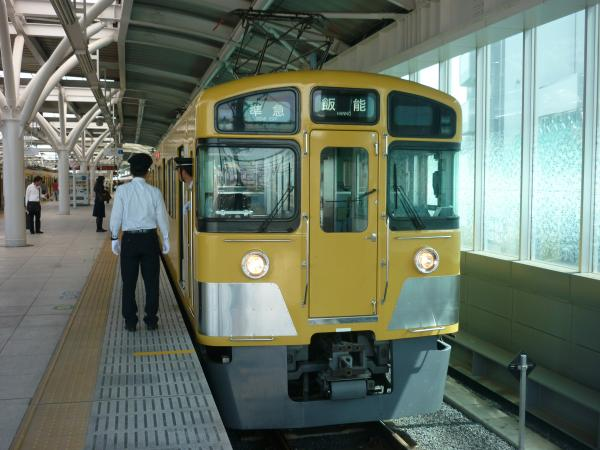 2014-04-12 西武2455F+2089F 準急飯能行き2 4129レ