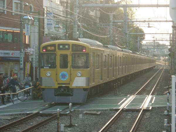 2014-04-12 西武9106F 急行飯能行き 2155レ